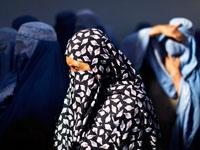 בורקה הלבוש המסורתי האיסלמי אשה מוסלמית / צלם: רויטרס